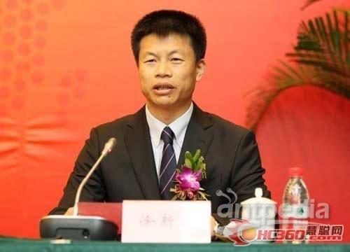 中华全国工商业联合会新能源商会副会长、太阳雨集团董事长徐新建