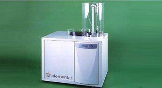 Vario MAX超大进样量元素分析仪